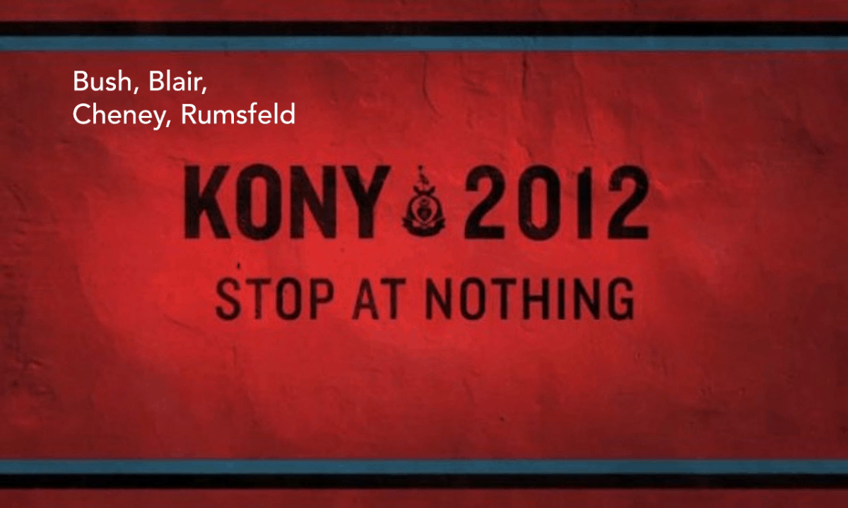 Adbusting Kony Stop at nothing 2012