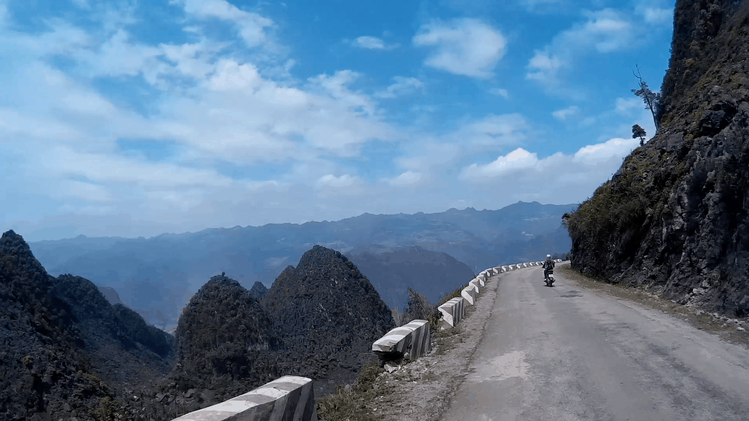 Ma Pi Leng Pass in Ha Giang, Vietnam