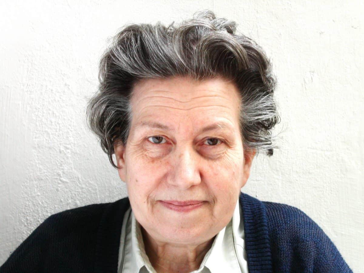 Ute Bock fotografiert für SOS Mitmensch von Isabell Bickel am 18. Mai 20013.