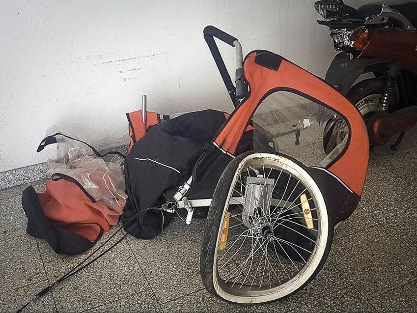 LPD NOE Unfall Radanhänger Hausleiten