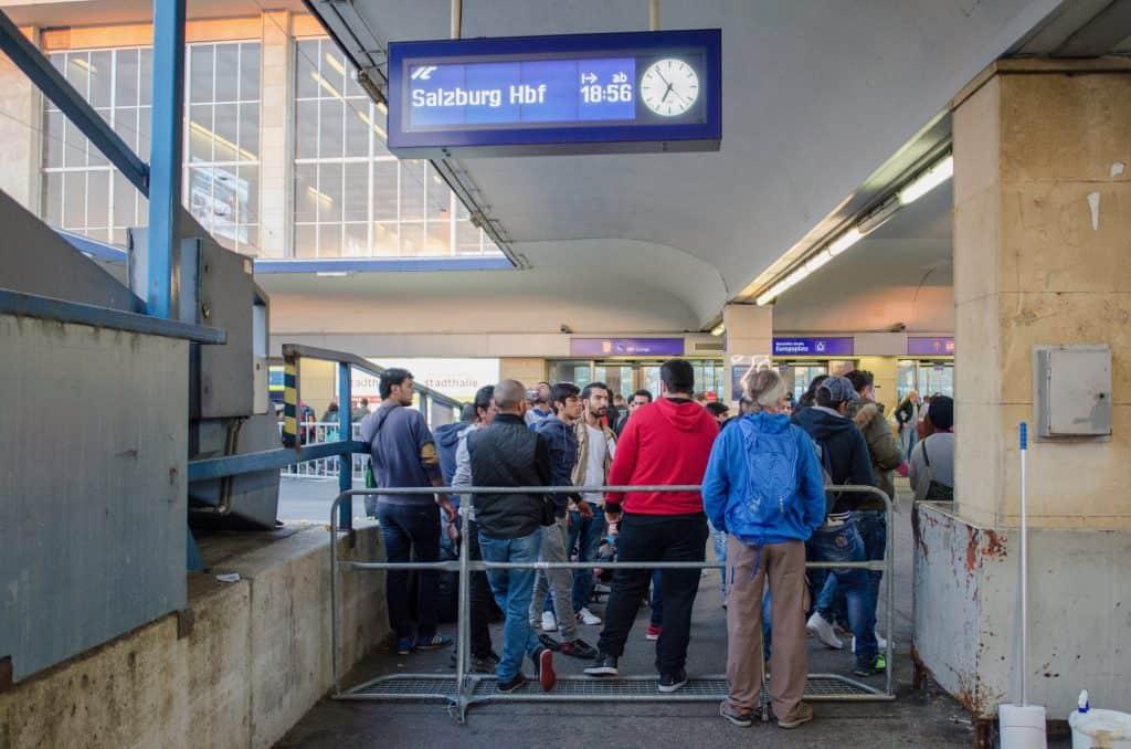Westbahnhof 11. September 2015 CC-BY Philipp Sonderegger